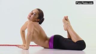 Hot naked gymnast Tonya