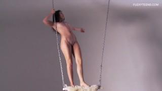 Erotic gymnastics by Kim Nadara